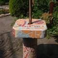 mozaïek tegels op gasbeton 80 x 40 x 40 cm