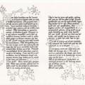 Wees kalm kalligrafie