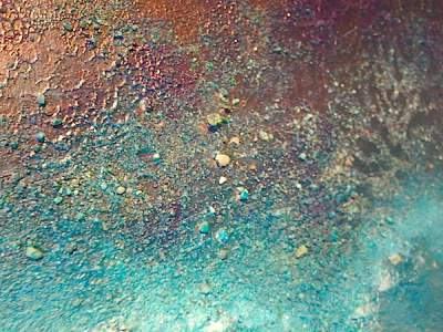 zand en steentjes