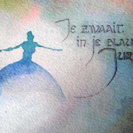 Songtekst aquarelletjes