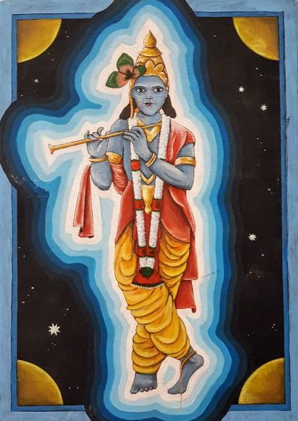 Ikoon Krishna